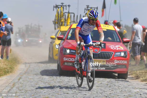 Olivier Le Gac of France and Team Groupama FDJ / during the 105th Tour de France 2018 Stage 9 a 1565 stage from Arras Citadelle to Roubaix on July 15...
