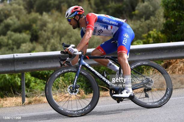 Olivier Le Gac of France and Team Groupama - FDJ during the 76th Tour of Spain 2021, Stage 10 a 189km stage from Roquetas de Mar to Rincón de la...