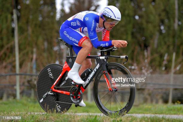Olivier Le Gac of France and Team Groupama - FDJ / during the 77th Paris - Nice 2019, Stage 5 a 25,5km Individual Time Trial stage from Barbentane to...