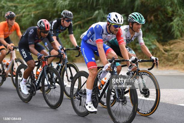 Olivier Le Gac of France and Team Groupama - FDJ in the Breakaway during the 76th Tour of Spain 2021, Stage 10 a 189km stage from Roquetas de Mar to...