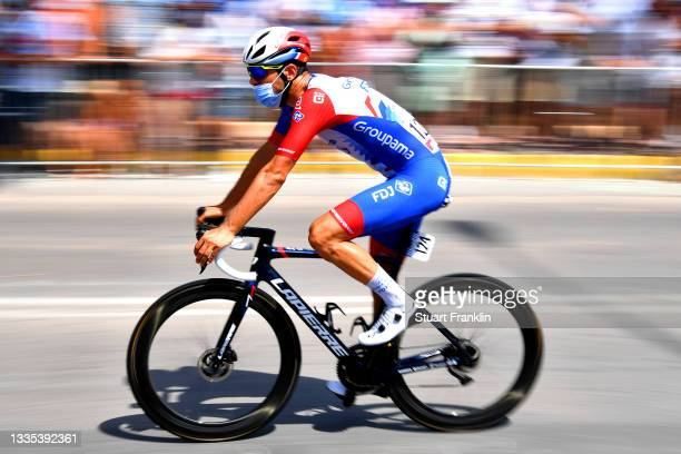 Olivier Le Gac of France and Team Groupama - FDJ prepares for the race prior to the 76th Tour of Spain 2021, Stage 8 a 173,7 km stage from Santa Pola...