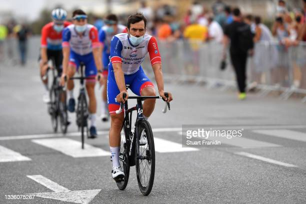 Olivier Le Gac of France and Team Groupama - FDJ prior to the 76th Tour of Spain 2021, Stage 10 a 189km stage from Roquetas de Mar to Rincón de la...