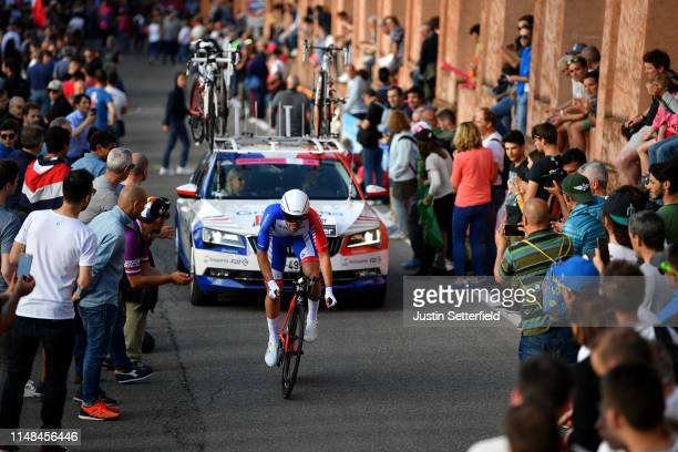 Olivier Le Gac of France and Team Groupama - FDJ / Public / Fans / Landscape / during the 102nd Giro d'Italia 2019, Stage 1 a 8km Individual Time...