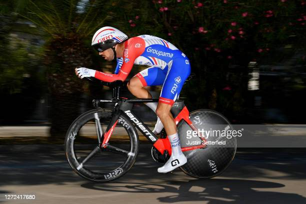 Olivier Le Gac of France and Team Groupama-FDJ / during the 55th Tirreno-Adriatico 2020 - Stage 8 a 10,1km Individual Time Trial in San Benedetto del...