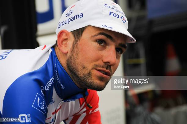 Olivier Le Gac of Groupama Fdj during the fourth stage of the 76th edition of ParisNice cycling race a 184 km individual time trial from La...