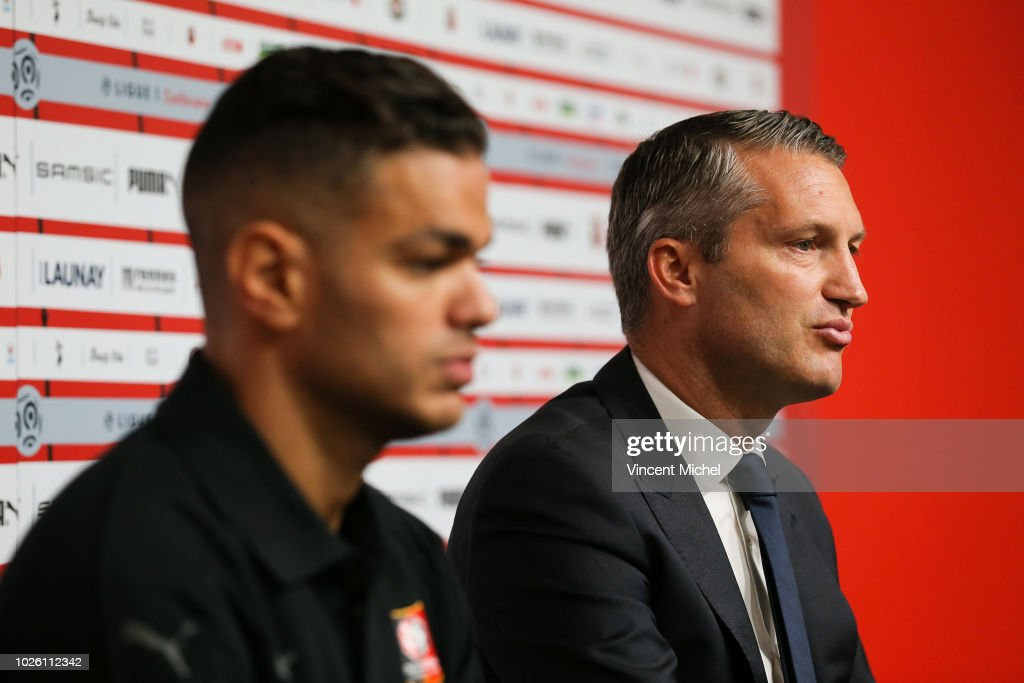 Olivier Letang President Of Rennes During The Presentation Of Ben News Photo Getty Images