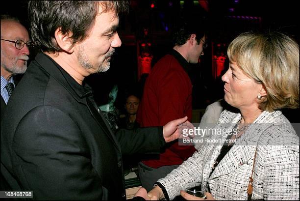 Olivier Marchal and Martine Monteil at 36 Quai Des Orfevres After Premiere Party At Berri Bar