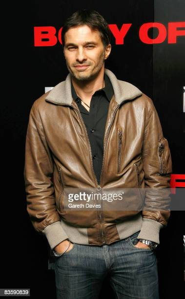 """Olivier Martinez arrives at the premiere for """"Body of Lies"""" at the Vue Cinema on November 06, 2008 in London, England."""