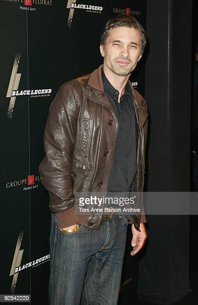 Olivier Martinez attends the Black Legend opening party on October 29 2009 in MonteCarlo Monaco