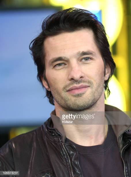 """Olivier Martinez during Ben Affleck, Liv Tyler and Angelina Jolie Visit MTV's """"TRL"""" - March 8, 2004 at MTV Studios, Times Square in New York City,..."""