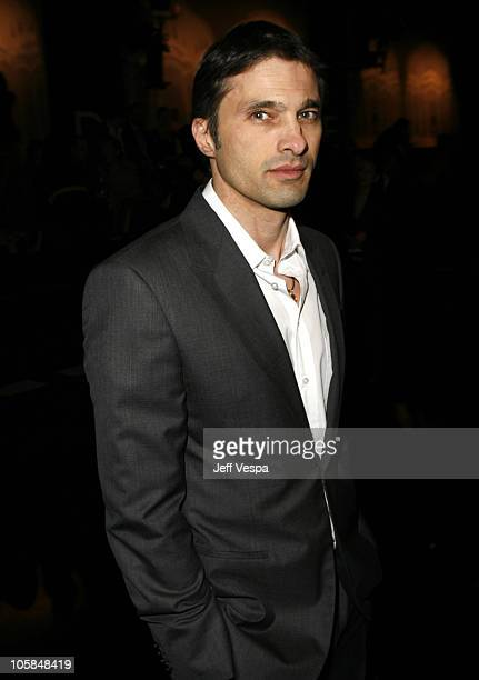 Olivier Martinez during Giorgio Armani Prive in LA Front Row at Green Acres in Los Angeles California United States