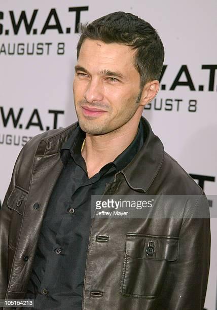 Olivier Martinez during SWAT Premiere at Mann Village Theatre in Westwood California United States