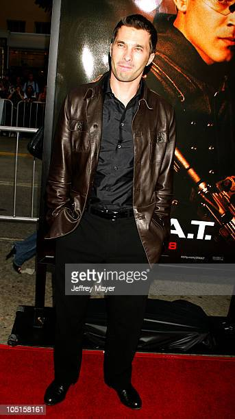 """Olivier Martinez during """"S.W.A.T."""" Premiere at Mann Village Theatre in Westwood, California, United States."""