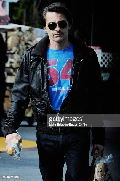 Olivier Martinez is seen in West Hollywood Ca on January 11 2016 in Los Angeles California