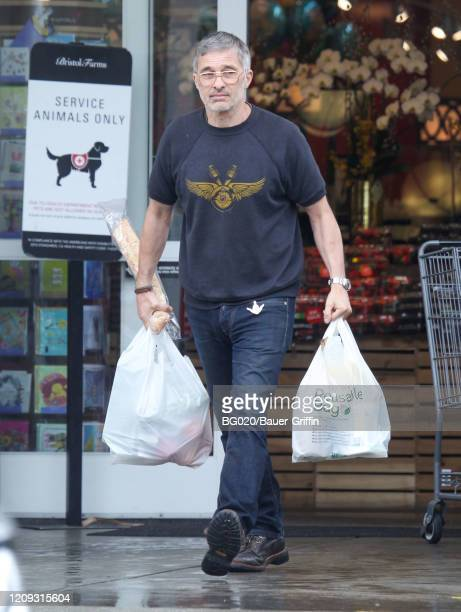 Olivier Martinez is seen on April 06, 2020 in Los Angeles, California.