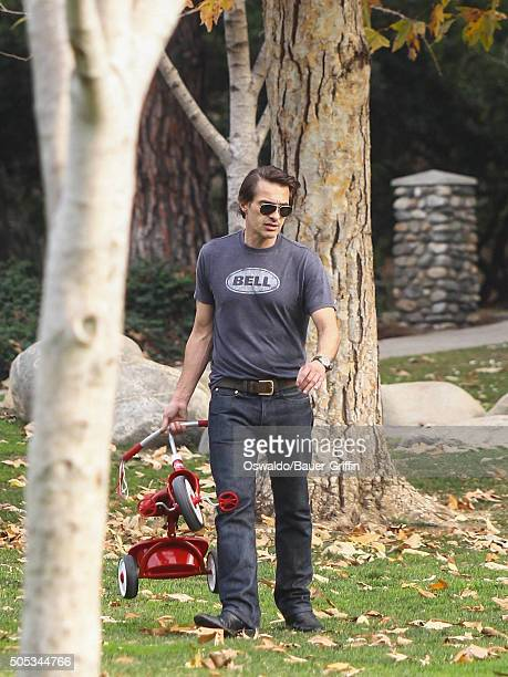 Olivier Martinez is seen on January 16 2016 in Los Angeles California