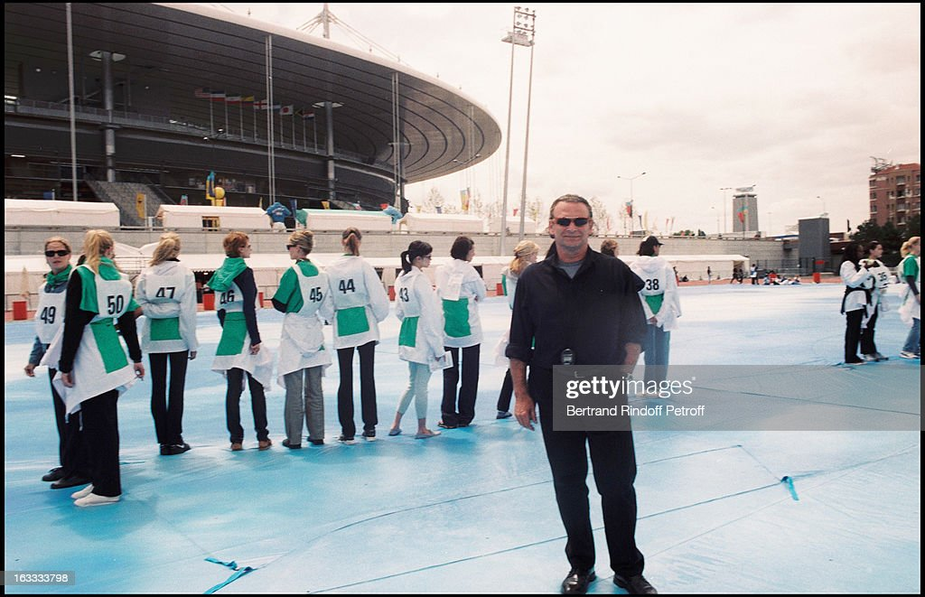 b75a77cb61afb Olivier Massart at theCatwalk Rehearsal For Yves Saint Laurent Fashion Show  At The Stade De France