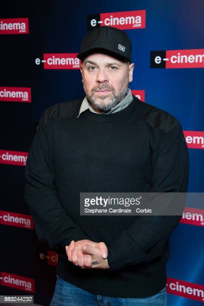 Olivier Megaton attends 'ecinemacom' Launch Party at Restaurant L'Ile on November 30 2017 in IssylesMoulineaux France