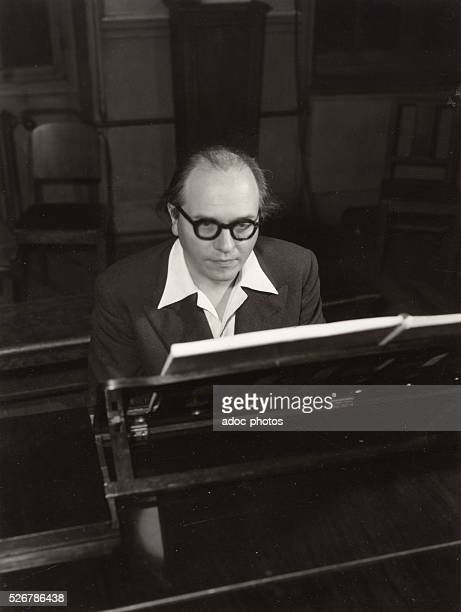 Olivier Messiaen French composer Ca 1950