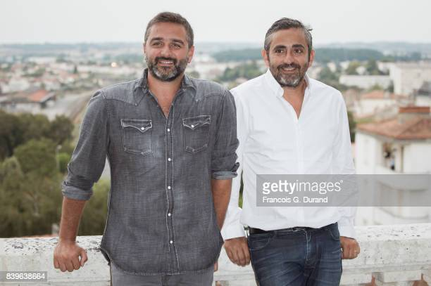 Olivier Nakache and Eric Toledano attend the 10th Angouleme FrenchSpeaking Film Festival on August 26 2017 in Angouleme France
