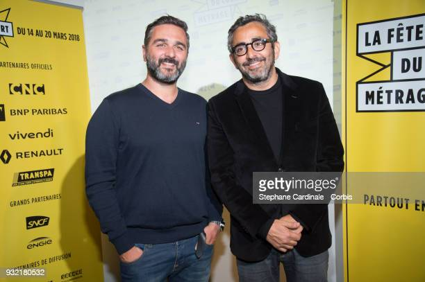 Olivier Nakache and Eric Toledano attend the 'La Fete Du Court Metrage' on March 14 2018 in Paris France