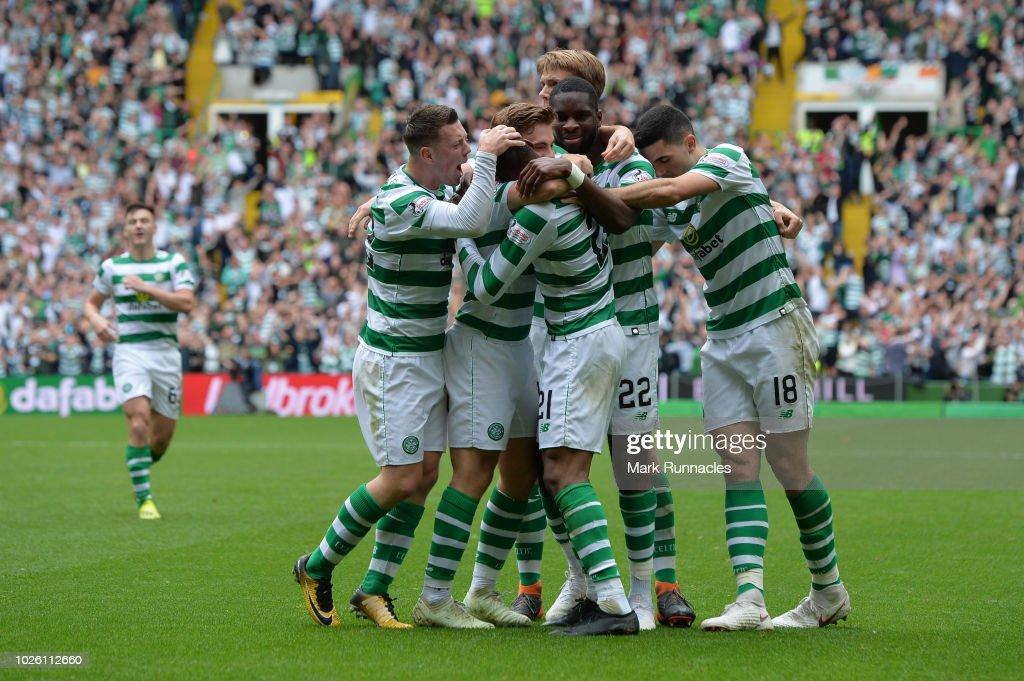 Celtic v Rangers -  Scottish Premier League : News Photo