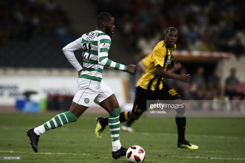 AEK Athens v Celtic - UEFA Champions League Third Round Qualifying Match : News Photo