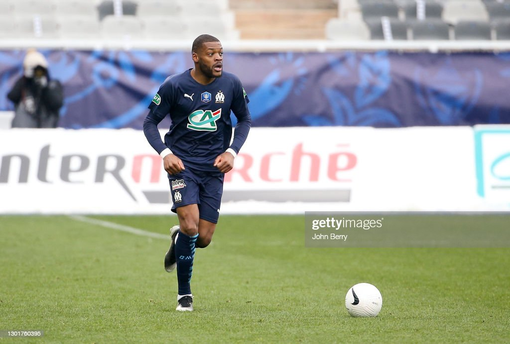 AJ Auxerre v Olympique de Marseille - French Cup : News Photo