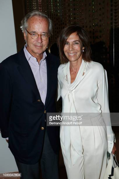 Olivier Orban and his wife Christine Orban attend the Kering Heritage Days Opening Night at 40 Rue de Sevres on September 14 2018 in Paris France