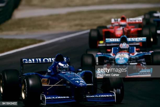 Olivier Panis, Alexander Wurz, Prost-Mugen-Honda JS45, Benetton-Renault B197, Grand Prix of Canada, Circuit Gilles Villeneuve, 15 June 1997.
