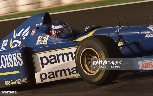 Olivier Panis during qualifying