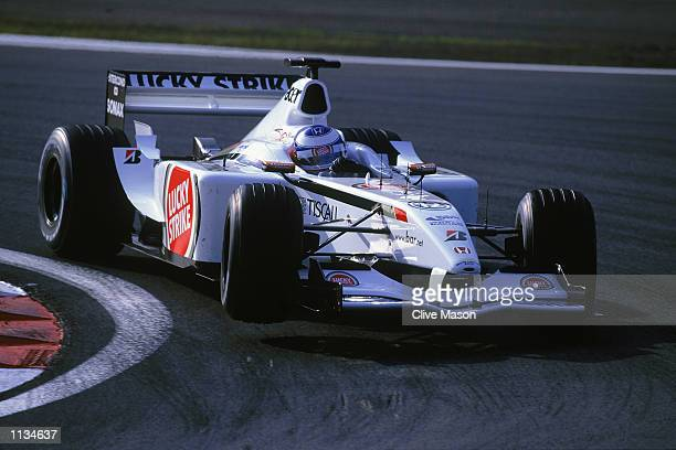 Olivier Panis of the BAR Honda Formula One Racing Team in action at The European Grand Prix at the Nurburgring in Germany on June 23 2002
