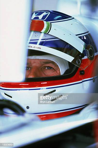Olivier Panis of the BAR Honda Formula One Racing Team in action on July 07 2002 during the British Grand Prix at the Silverstone Race Track...