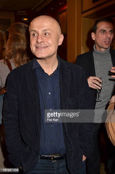 Olivier Poivre d'Arvor attends the Procope Des Lumieres' Literary Awards First Edition at the Procope on January 30 2012 in Paris France