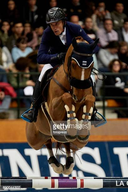 Olivier Robert attends during CSI Casas Novas Horse Jumping Competition on December 10 2017 in A Coruna Spain