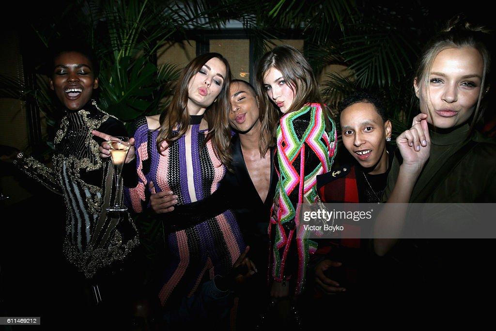 Balmain : AfterShow Party - Paris Fashion Week Womenswear Spring/Summer 2017 : News Photo