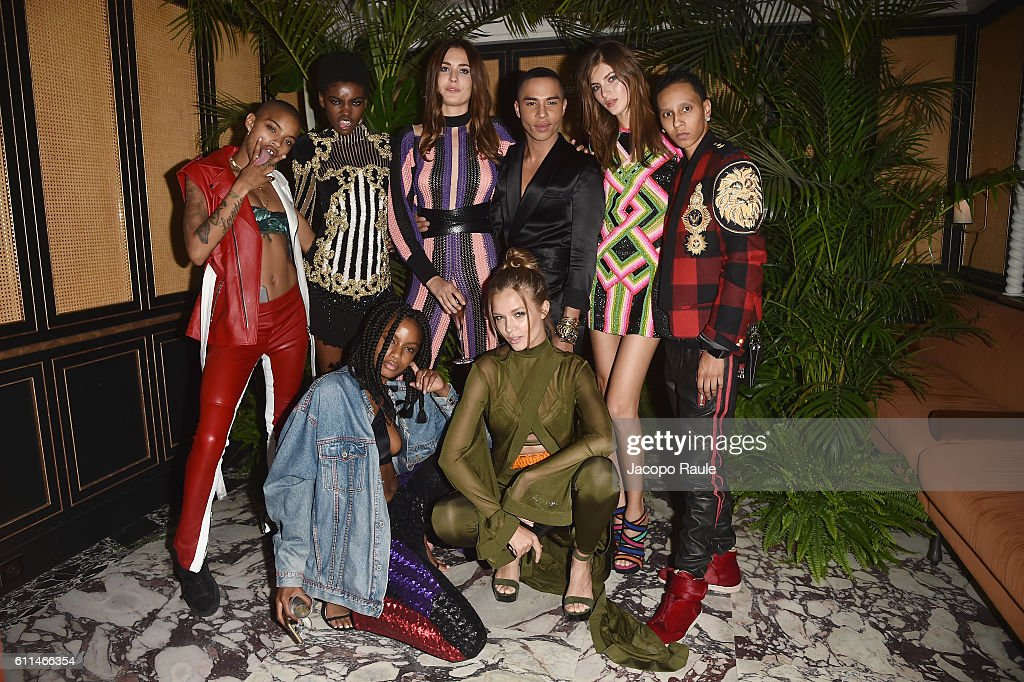 Balmain : AfterShow Party - Paris Fashion Week Womenswear Spring/Summer 2017 : News Photo
