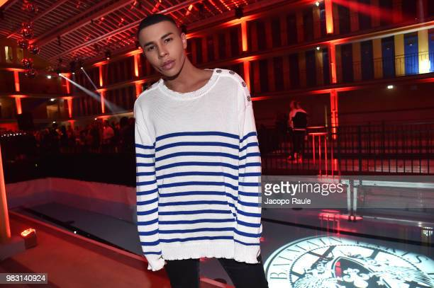 Olivier Rousteing attends the Balmain after party as part of Paris Fashion Week on June 24 2018 in Paris France