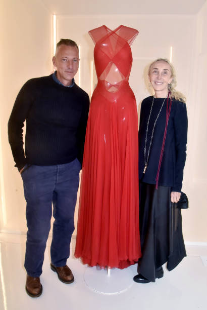 "FRA: ""Alaia And Balenciaga Sculpteurs De La Forme"" Exhibition At Fondation Alaia In Paris"