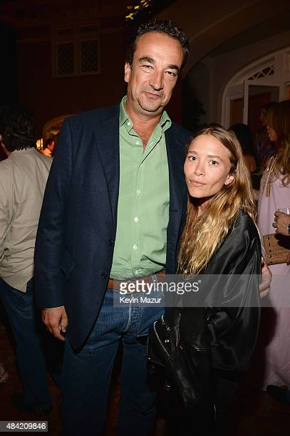 Olivier Sarkozy and MaryKate Olsen attend Apollo in the Hamptons 2015 at The Creeks on August 15 2015 in East Hampton New York