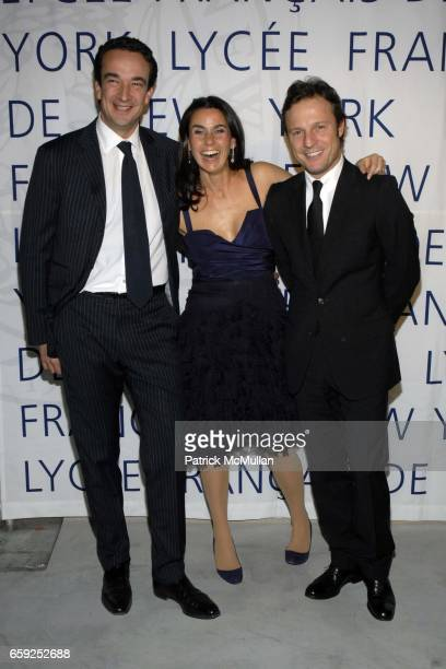 Olivier Sarkozy Charlotte Sarkozy and Olivier Bialobos attend LYCEE FRANCAIS DE NEW YORK Celebrates its 10th Gala at 7 World Trade Center on February...