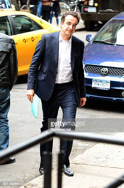 Olivier Sarkozy is seen in soho on October 13 2014 in New York City