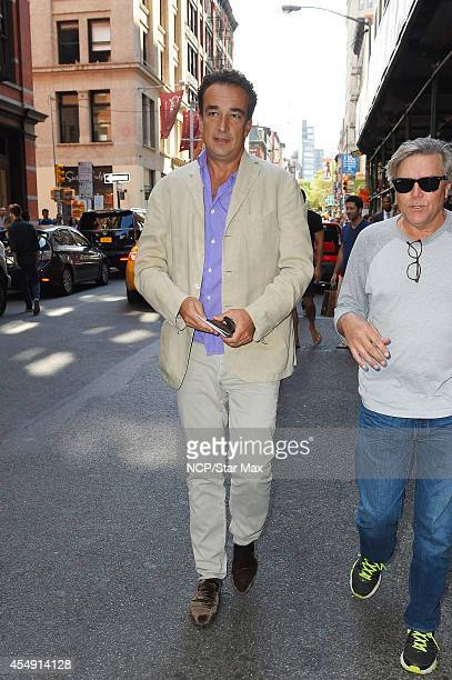 Olivier Sarkozy is seen on September 7 2014 in New York City