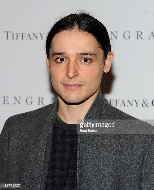 """Olivier Theyskens attends the """"ENGRAM"""" screening at Museum of Modern Art on March 31, 2014 in New York City."""