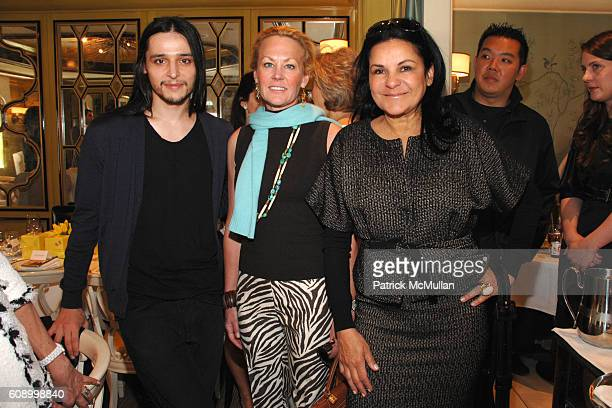 Olivier Theyskens Muffie Potter Aston and Candy Pratts Price attend BERGDORF GOODMAN Lunch with Nina Ricci Designer OLIVIER THEYSKENS hosted by ANNE...