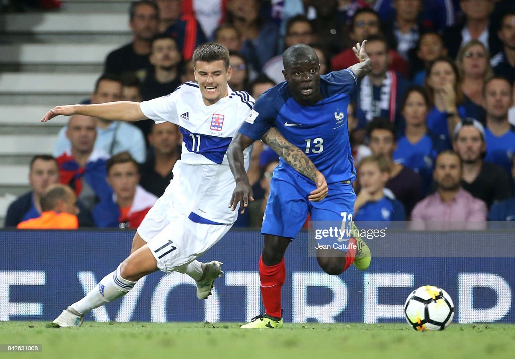 France v Luxembourg - FIFA 2018 World Cup Qualifier : News Photo