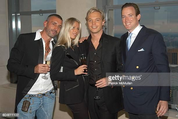 Olivier van Doorn Caroline Swarovski Markus LangesSwarovski and Rupert Adams attend SWAROVSKI Private Dinner to Honor the 2006 CFDA Nominees at Top...