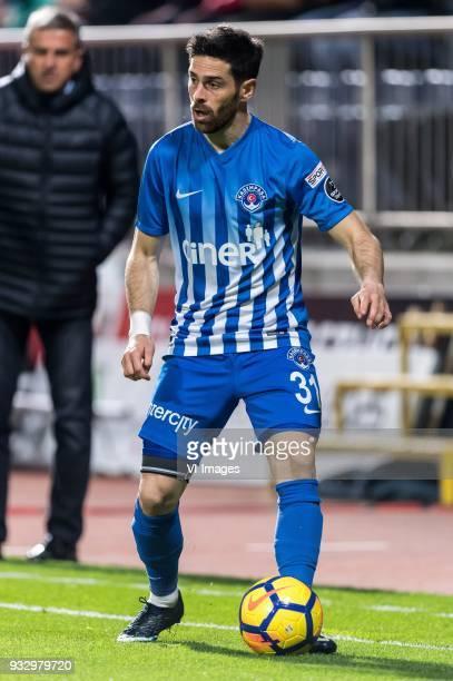 Olivier Veigneau of Kasimpasa AS during the Turkish Spor Toto Super Lig match between Kasimpasa AS and Antalyaspor AS at the Recep Tayyip...