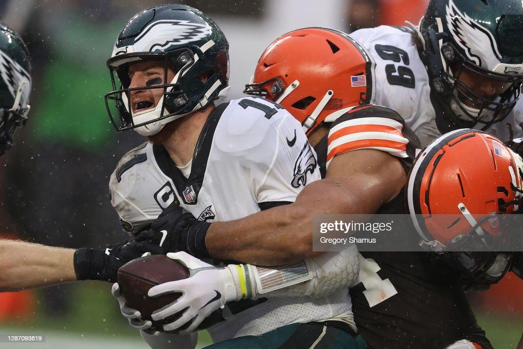 Philadelphia Eagles v Cleveland Browns : News Photo