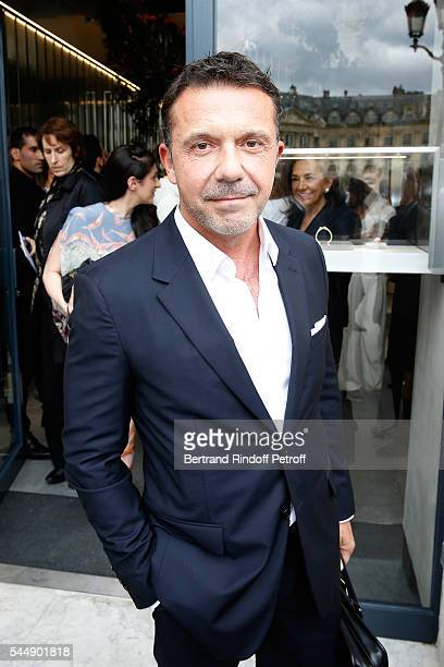 Olivier Widmaier Picasso attends the Repossi Vendome Flagship Store Inauguration at Place Vendome on July 4 2016 in Paris France